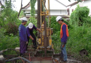 soil boring test