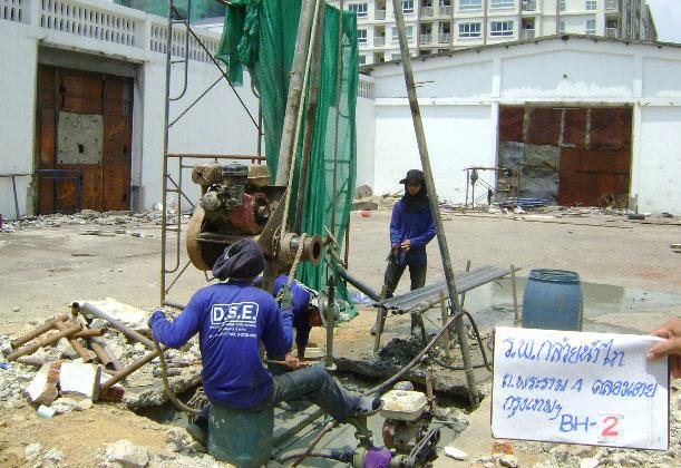โครงการก่อสร้างอาคาร รพ.กล้วยน้ำไท1