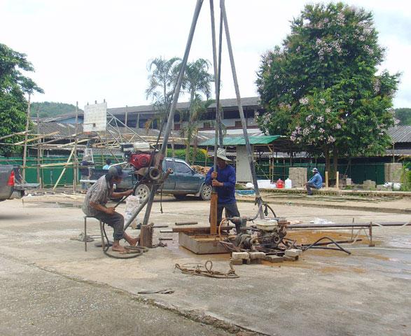 โครงการก่อสร้างอาคารเรียน 4 ชั้น