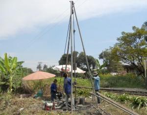 โครงการงานขยายสะพานรถไฟและงานก่อสร้างสะพานรถไฟ
