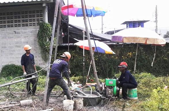 โครงการก่อสร้างอาคารคลังสินค้าห้องเย็น ซอยกิ่งแก้ว21