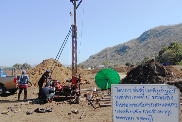 โครงการก่อสร้างคลังเก็บอุปกรณ์กรมสรรพวุธทหารบก จังหวัดลพบุรี