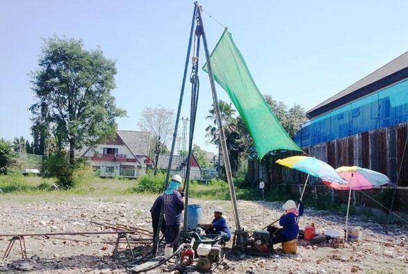 โครงการก่อสร้างบ้าน ซอยหมู่บ้านสินเก้า