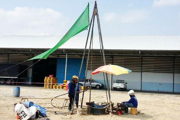 โครงการก่อสร้างโกดังองค์การส่งเสริมกิจการโคนมแห่งประเทศไทย