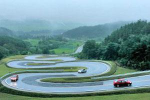 virtual road design