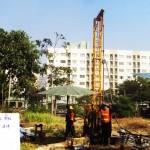 โครงการก่อสร้างอาคาร คสล. 8 ชั้น จำนวน 2 หลัง เพื่อใช้เป็นหอพักนักศึกษา