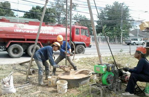 โครงการก่อสร้างอาคารพาณิชย์ บริเวณ ตำบลหอรัตนไชย
