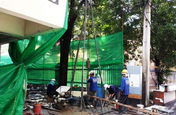 โครงการก่อสร้างอาคารสำนักงานกระทรวงแรงงาน
