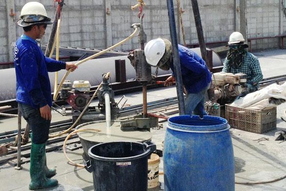 โครงการ โรงงานพ่นทราย บริษัทเบสท์เทคแอนด์เอ็นจิเนียริ่งจำกัด